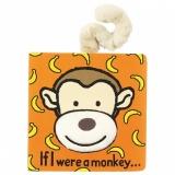 Jellycat If I Were a Monkey (Board Book)